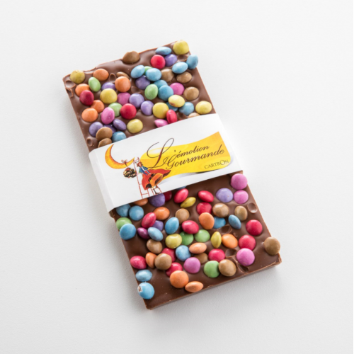 TABLETTE CHOCOLAT LAIT SMARTIES