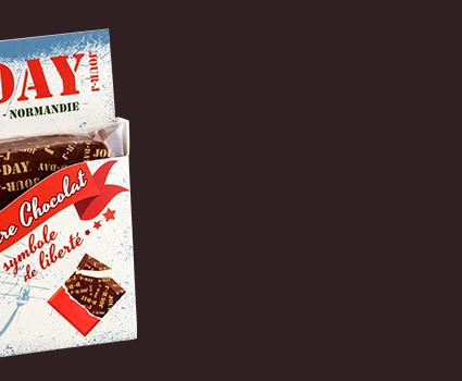"Barre de chocolat ""D-Day"""